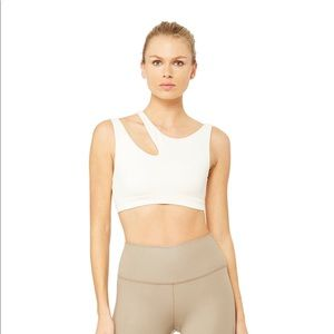 ALO Yoga Peak Sports Bra white size S